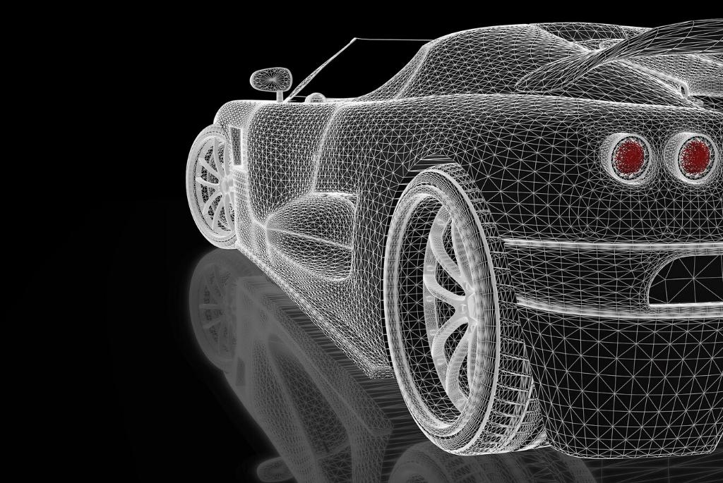Skanowanie 3D w przemyśle motoryzacyjnym