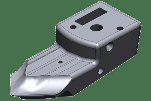 Wykonanie modelu CAD formy wtryskowej