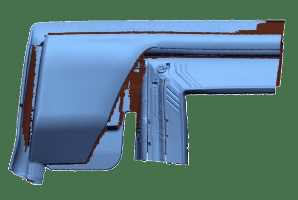 Skanowanie 3D uszczelki gumowej