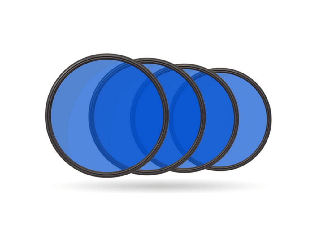 filtry niebieskie evixscan 3D