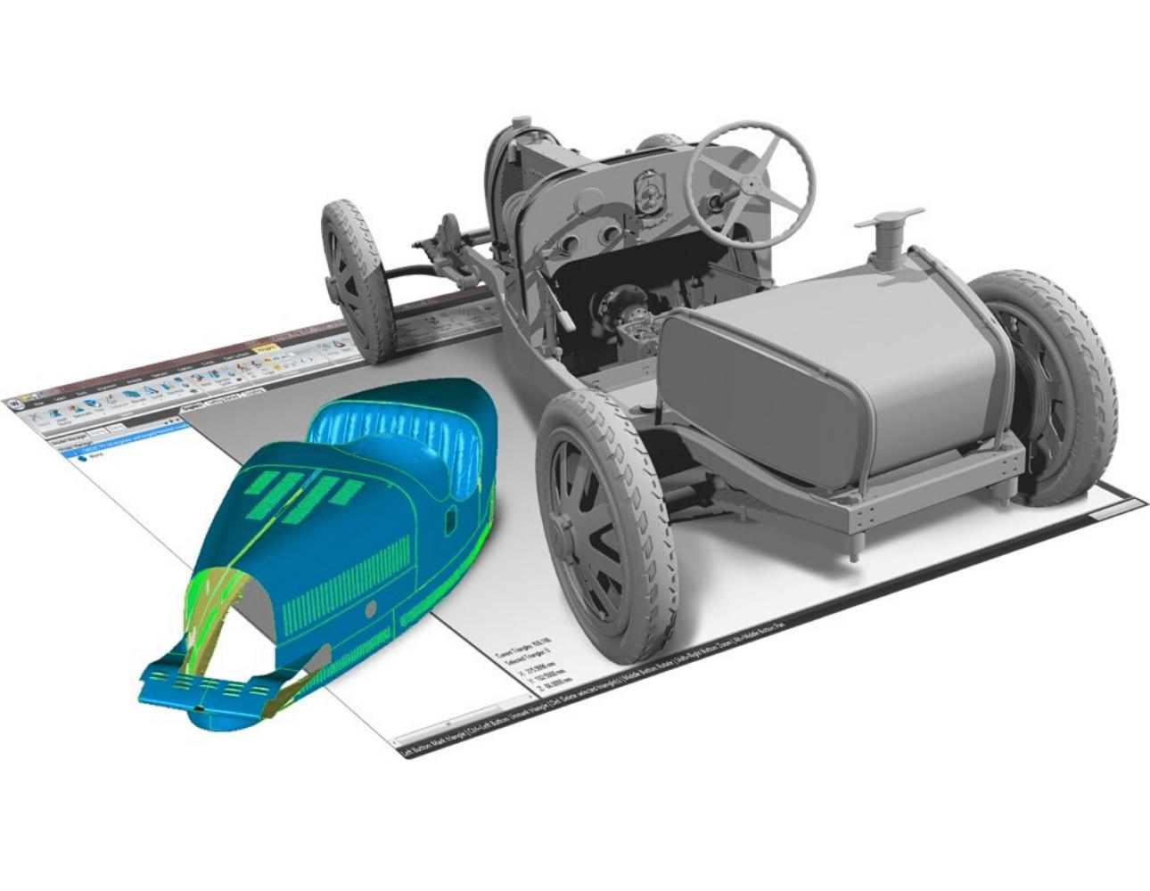 Przykład modelowania 3D