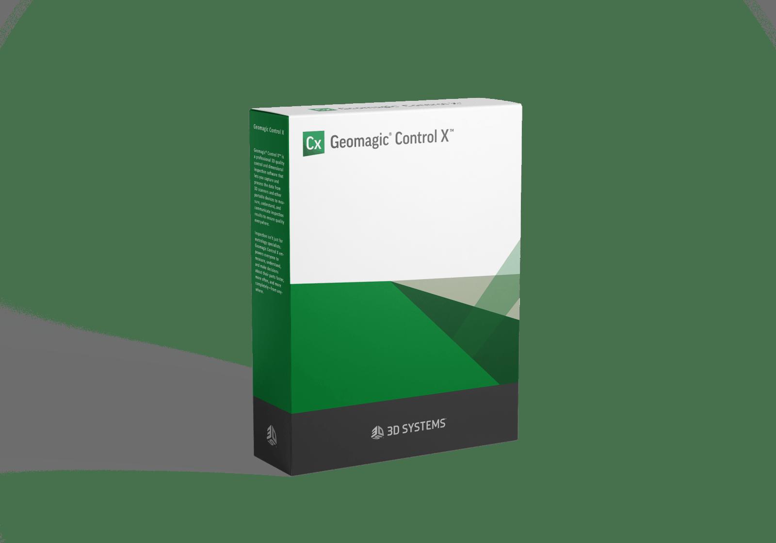Oprogramowanie Geomagic Control X