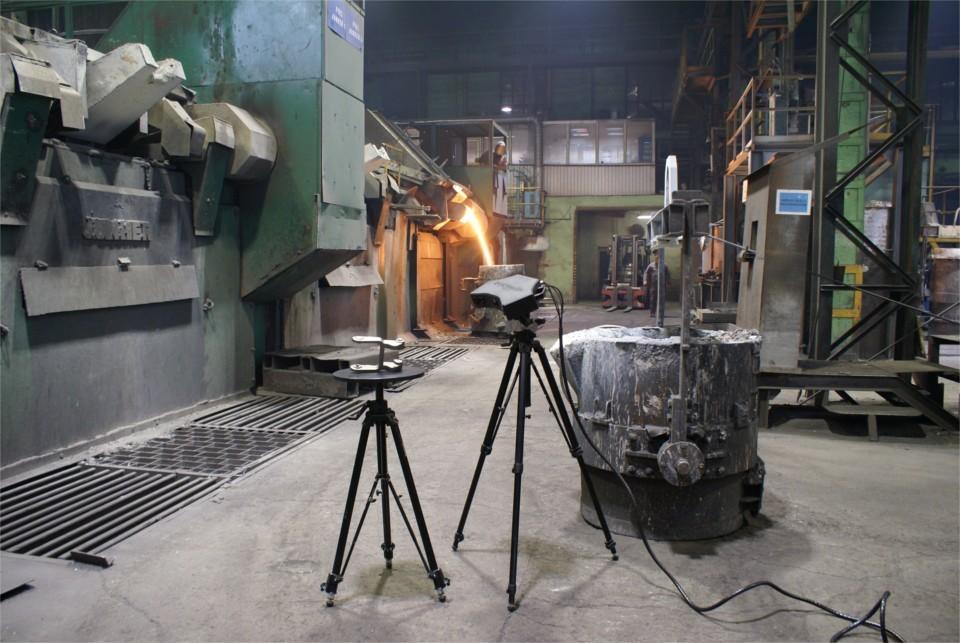 Skanowanie 3D w odlewni Metalpol