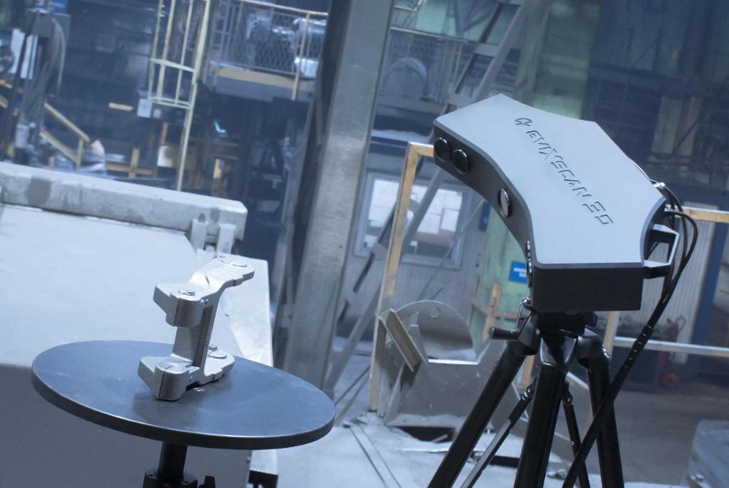 Skanowanie 3D w przemyśle odlewniczym
