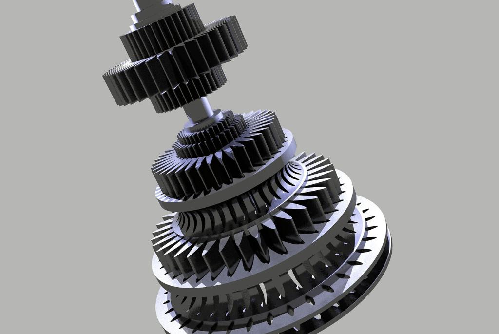 Skanowanie 3D precyzyjnych elementów